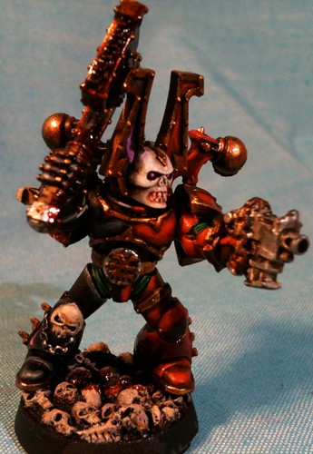 Khorne Bezerker test model