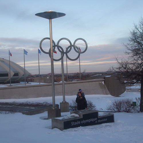 Olympic Flame in Montreal