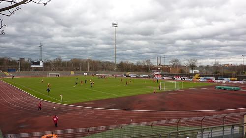 Wolken über dem Südstadion