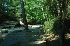 Eisbärenanlage im Zoo de La Flèche
