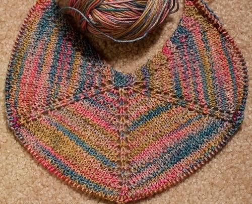 Casbah Seashore shawl