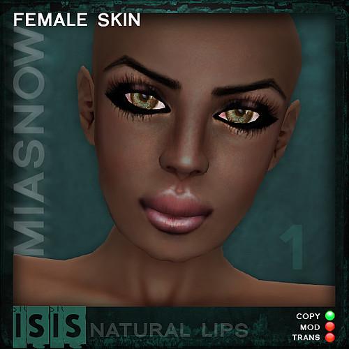 ISIS Dark 1 natural lips