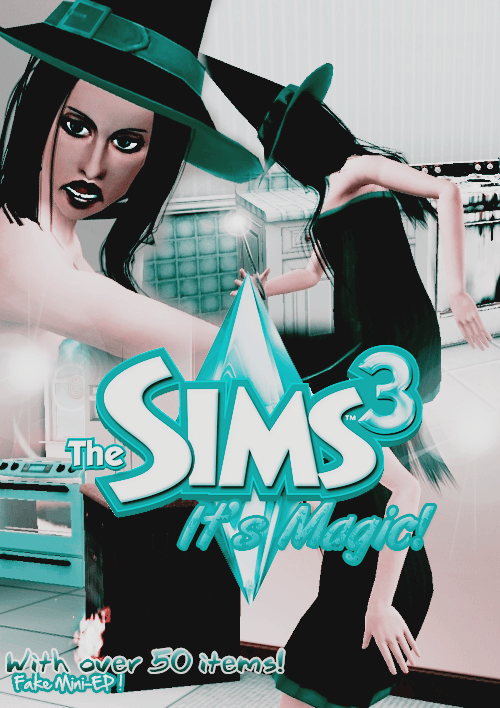 """""""The Sims 3 It's Magic"""" fan-made mini expansion pack"""