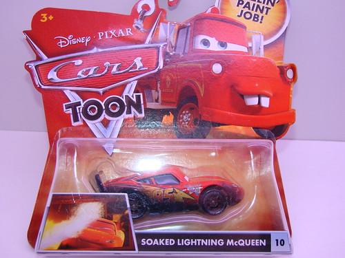 CARS Soaked Lightning mcqueen