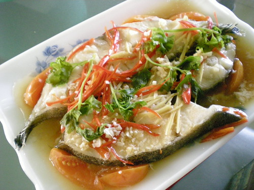 STP's steamed halibut 2