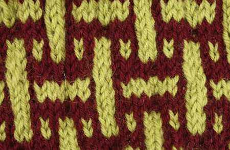 Simulated Basketweave Swatch