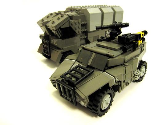 LEGO NATO Jackal LRV