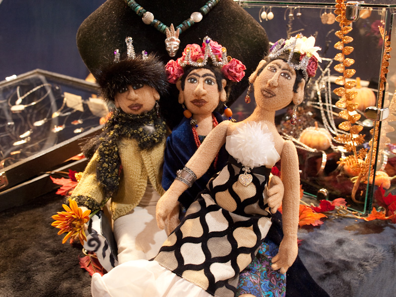 Three Fridas in Tiaras