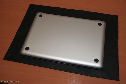 Cambiando el disco de una macbook pro