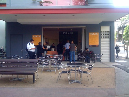 Felix cafe, surry hills