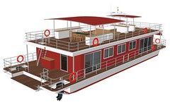 Respect River houseboat
