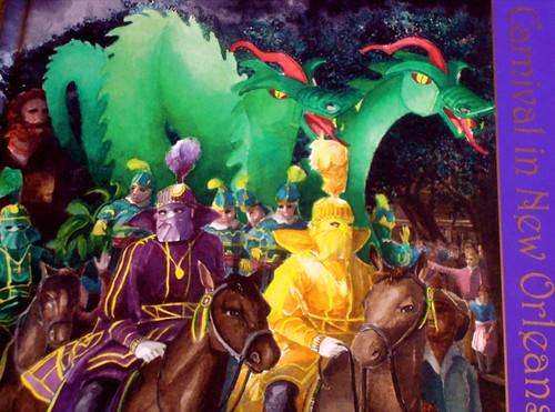 Mardi Gras Souvenir Book