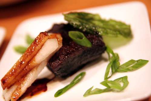 Braised Pork Belly with Asian Pears