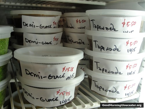Demi Glace and Tapenade At Duckworth Beach Gourmet