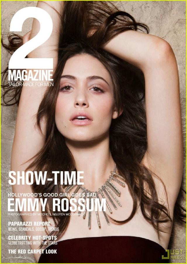 Emmy Rossum Covers 2 Magazine 9