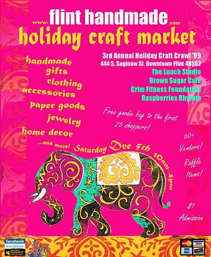 Holiday Craft Market Flyer