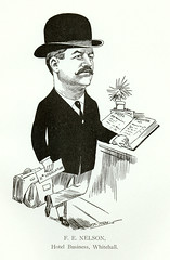 F. E. Nelson, Hotel Business, Whitehall, Monta...