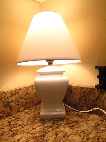 Cheapo lamp