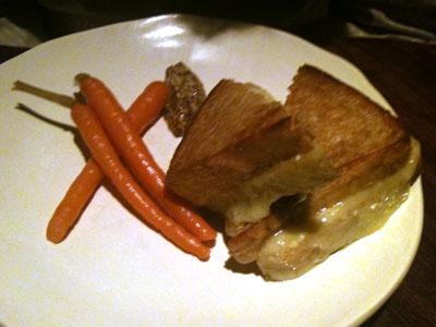 Grilled Artisanal Comte Sandwich
