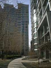 Beijing - modern apartment house