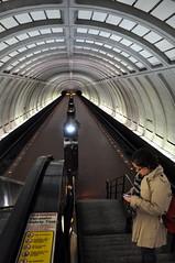 Platform at Cleveland Park Metro