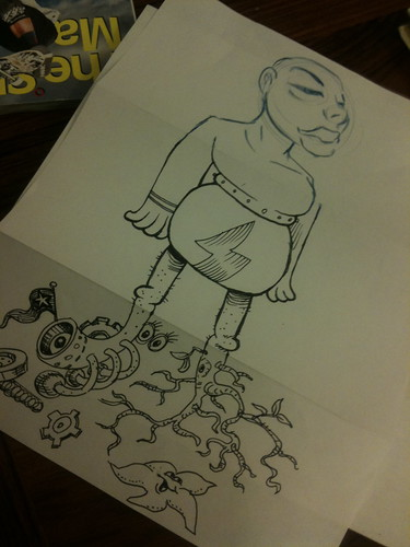 Mike Hales' exquisite Corpse