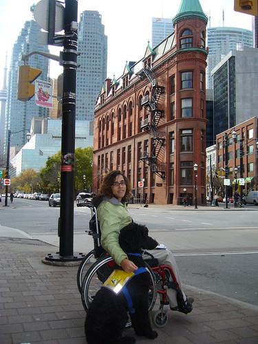 Yankee en Leen in Toronto
