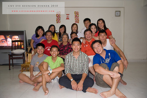 CNY Reunion Dinner 2010 #29
