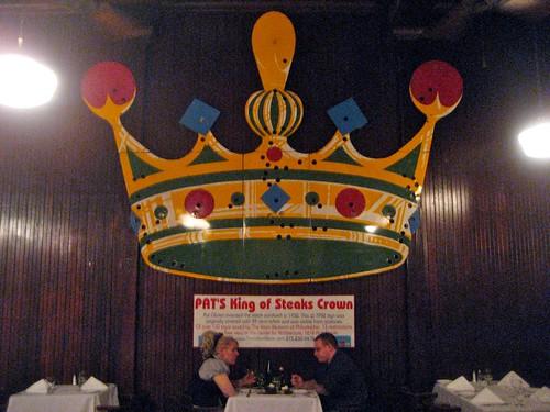 Pat's King of Steaks Crown