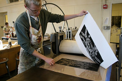 Applied Arts Monoprint Workshop