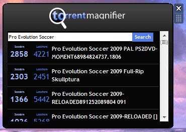 Torrent_Magnifier