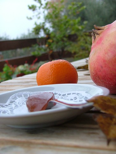 gelatina di mandarino e melagrana1