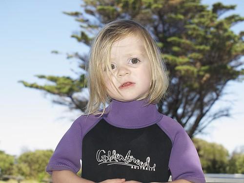 Tilly wetsuit Dec 15th