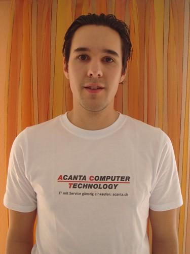 Acanta Computer Technology T-Shirt