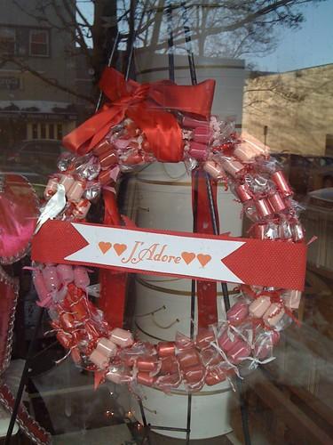 Candy Valentine's Day Wreath