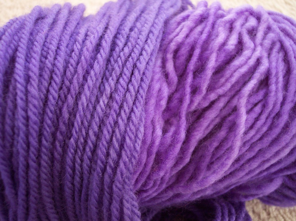 """handdyed, Jarquard dyes """"lilac"""""""