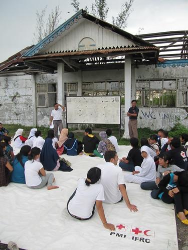 Vorbereitung auf den National Tsunami Drill Day
