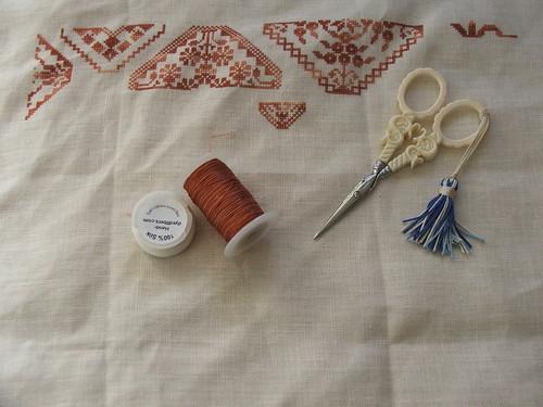 Beatrix Potter's Quaker Sampler / Needleprint