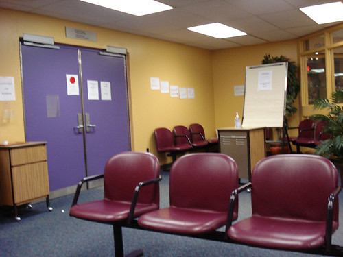 dialysis waiting room