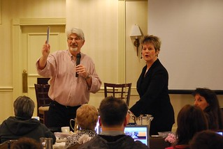 David Perdew and Kathleen Gage at Niche Affiliate Marketing System (NAMS) Workshop 3