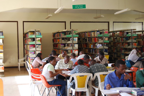 Thika Library - internal shot