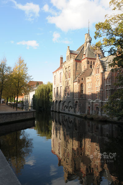 從陸地上看運河