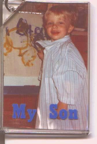 Sean painting age 3