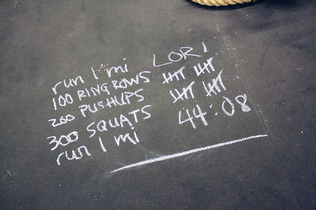 "My ""Murph"" tally and results"