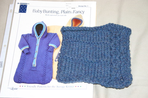 Baby bunting swatch