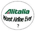 Is Alitalia Still the Worst?
