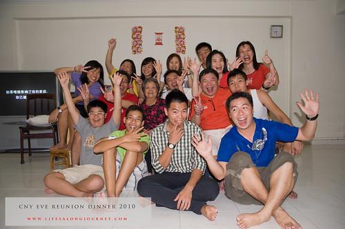 CNY Reunion Dinner 2010 #30