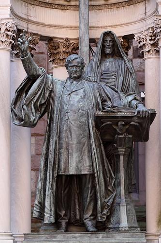 Phillips Brooks Statue at Trinity Church