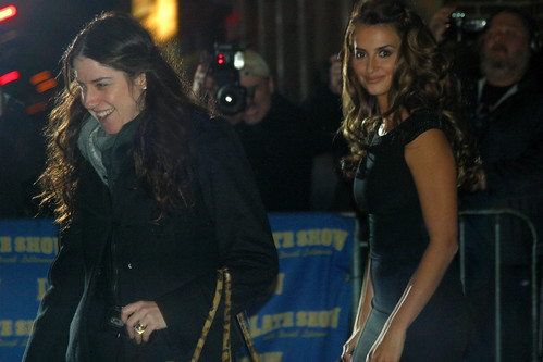 Penelope Cruz at Letterman