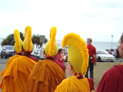 Monks at the Beach